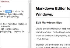 DA-MarkdownEditor – DA-Software