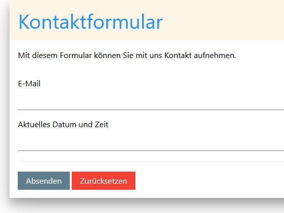 html eingabefeld